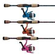 "SHAKESPEARE® AMPHIBIAN® SPINNING COMBO 6'0"" 2PC 2-4KG - PINK"