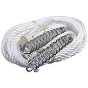 1 x Supex 6mm Double Guy rope with Wood Runner and Spring