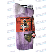 MERINO TREAD ALLDAY SOCK PETUNIA SMALL