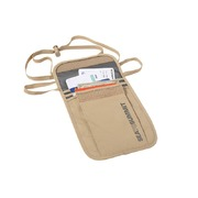 Sea to Summit 3 Pocket Neck Pouch - Sand / Slate