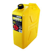 PROQUIP 20LT TOUGH PLASTIC CAN JERRY PLASTIC DIESEL YELLOW 20L
