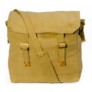 Huss Web Haversack Large Shoulder Bag Khaki WH-1