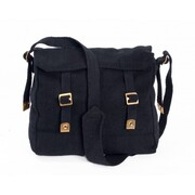 Huss Web Haversack Shoulder Bag Black WH-2