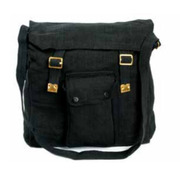 Huss Web Haversack Black WH-4