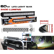 HARD KORR LIGHTING LED LIGHT BAR 60W