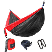 LAZI-PRO PARACHUTE HAMMOX DOUBLE - BLACK/RED