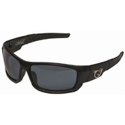 Mustad Hank Parker Polarized Sunglasses-Black Frame with Smoke Lens-HP101A-2