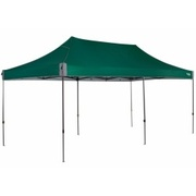 OZtrail Deluxe 6.0 Gazebo 3m x 6m Forest Green