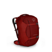 NEW OSPREY PORTER 46 TREKKING  GEAR HAULING TRAVEL PACK - DIABLO RED