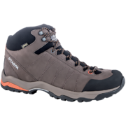 SCARPA MORAINE PLUS MID GTX HIKING BOOT - CHARCOAL/MANGO - SIZE 43