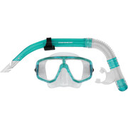 Mirage CRUISE SILICONE ADULT MASK & SNORKEL SET - Green