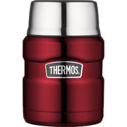 Thermos 470ml Stainless Steel Food Flask Red