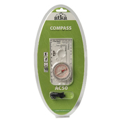 Atka® AC50 orienteering baseplate compass