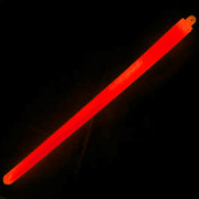 "Illumiglow 15"" Lightstick (38.1cm) – 1 Ring Military Grade Red - Single"