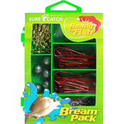 SURECATCH 130PC BREAM PACK INCLUDING TACKLE BOX