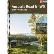 Hema Australia Road & 4WD Easy Read Atlas - 293 x 396mm 12th: Edition