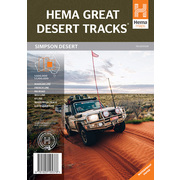 Hema Great Desert Tracks - Simpson Desert