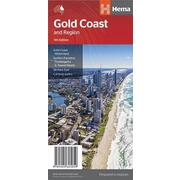 Hema Gold Coast & Region Map