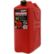 PROQUIP CAN JERRY PLASTIC RED 10LT FUEL