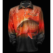 BIGFISH JACK ATTACK II LONG SLEEVE FISHING SHIRT - LARGE