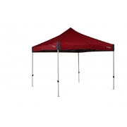 OZTRAIL DELUXE 3.0 GAZEBO RED