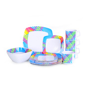 OZtrail 16 Piece Melamine Dinner Set