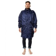XTM STASH 3/4 RAIN JACKET SMALL  - PATRIOT BLUE
