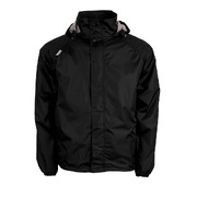 XTM STASH II UNISEX RAIN JACKET - PLUS SIZE 5XL - BLACK