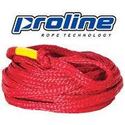Proline 3 Person Tube Rope RED