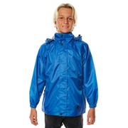 XTM STASH RAIN JACKET KIDS 6 - BLUE