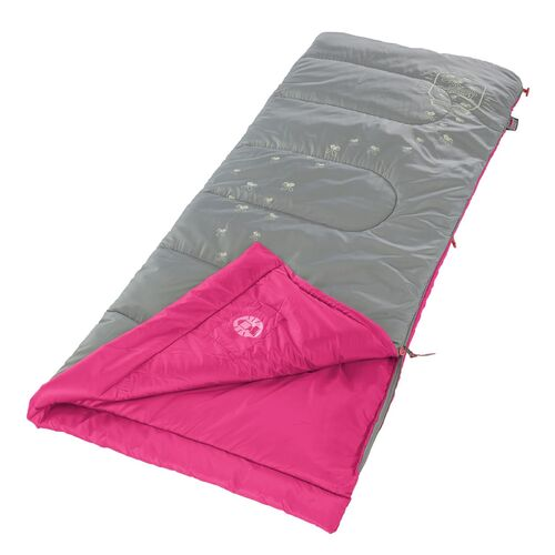 Coleman Fyrefly Illumi-Bug Sleeping Bag Pink