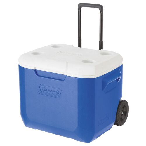 Coleman 57L Cooler Wheeled - Blue