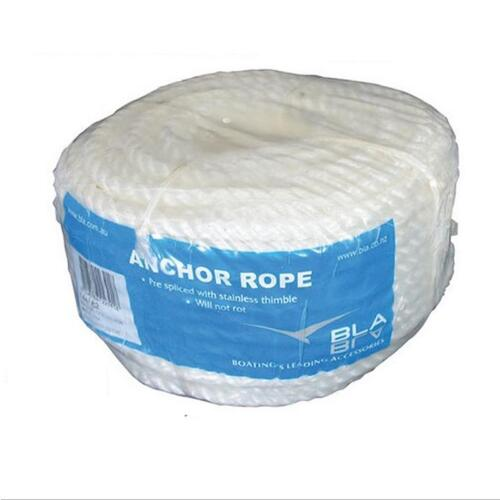 BLA Silver Rope Anchor Coil 8mm X 50m