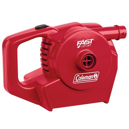 Coleman Quickpump Rechargeable 12V And 240V