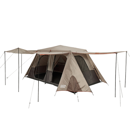 Coleman Instant-Up 8 Person Tent With Side Entry - Silver Series | Free Shipping