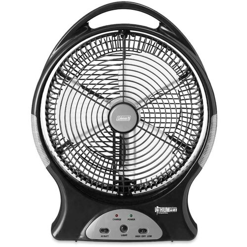 Coleman Fan Lithium ion Rechargeable 12 inch