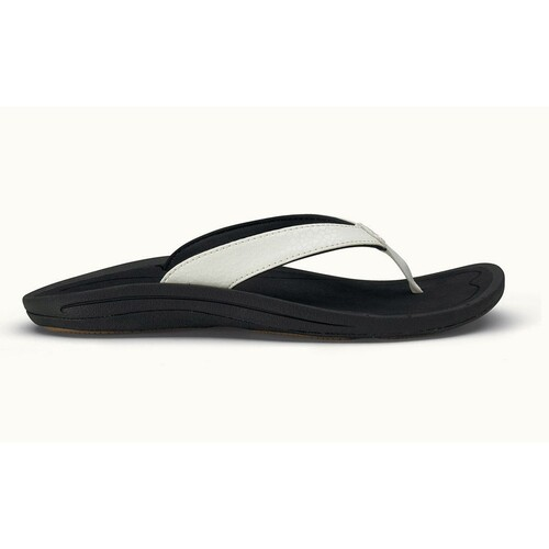 Olukai Kulapa Kai Womens Sandle US 10 White/Black