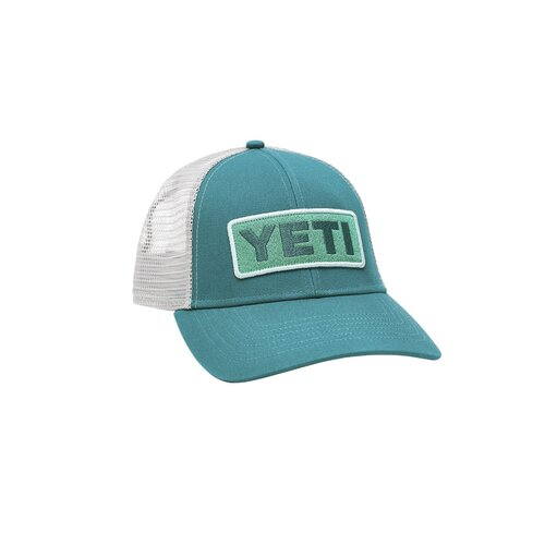 Yeti Logo Badge S21 Low Pro Hat - Green/AqBlue