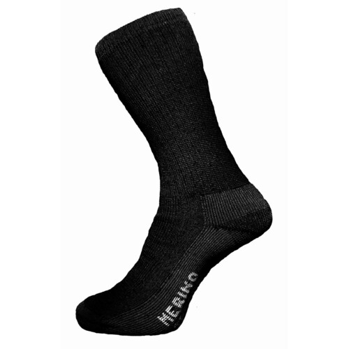 Merino Tread Allday Sock - Midnight Black