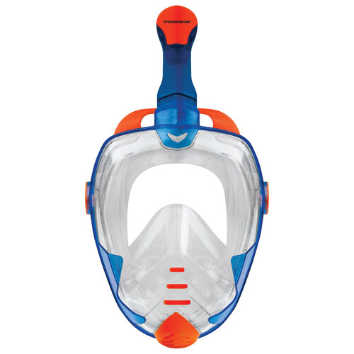 Mirage Galaxy 2 Mask & Snorkel Adult Set - Blue