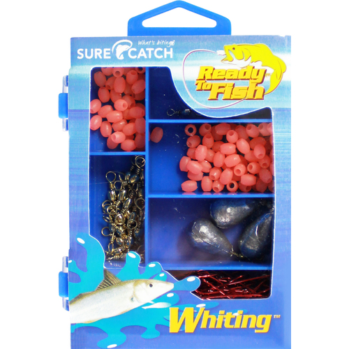 Surecatch 226 pc Whiting Pack Including Tackle Box