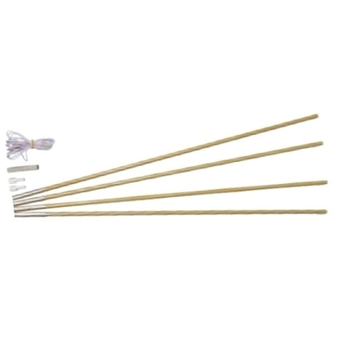 Oztrail Fibreglass Tent Pole Kit 6.9 Mm