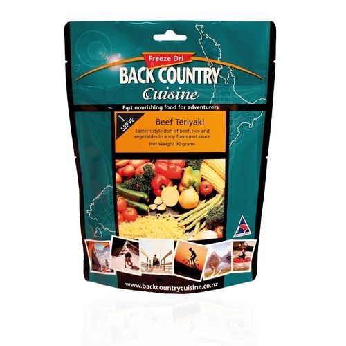 Back Country Cuisine Beef Teriyaki - Single Serve