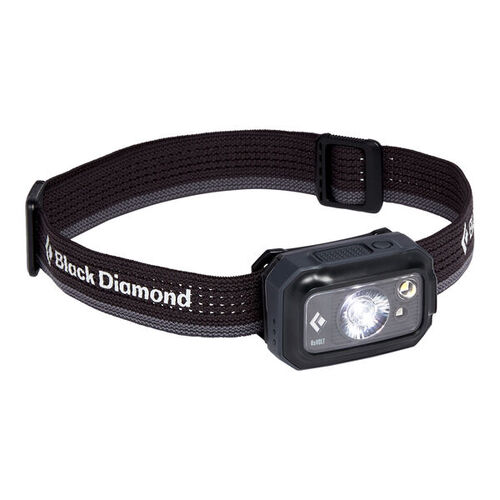 Black Diamond Revolt 350 Lumen Rechargeable Headlamp - Graphite
