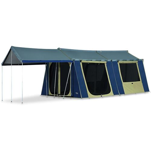 Oztrail 12X15 Canvas Cabin Tent