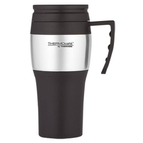 Thermos 400ml Stainless Steel Outer Foam Insulated Travel Mug
