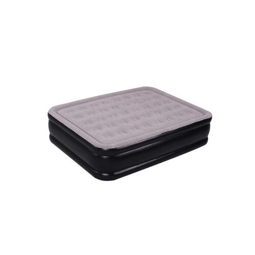Oztrail Majesty Air Mattress Double Double High With 240v Pump