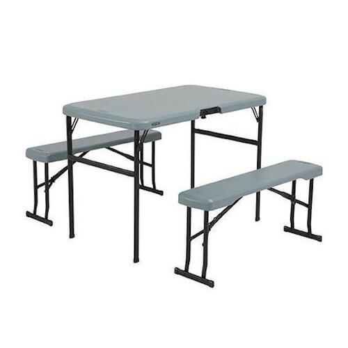 Lifetime Recreation Set Table And Benches
