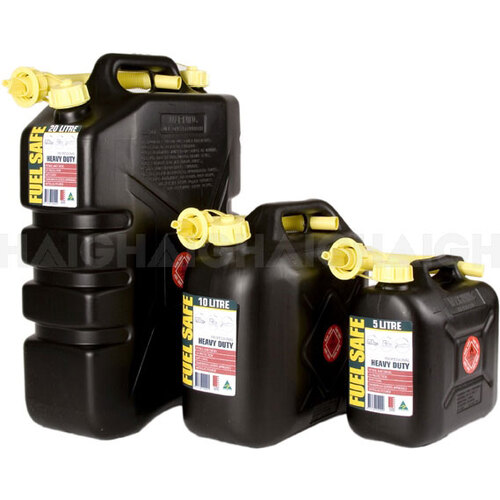Fuel Safe 5L Black Jerry Can