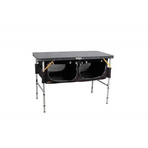 Oztrail Folding Table With Storage